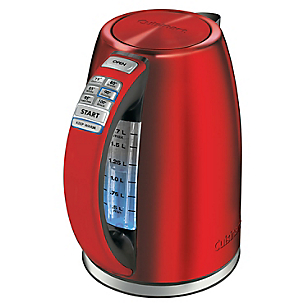 Hervidor Digital 1.7 Litros Rojo