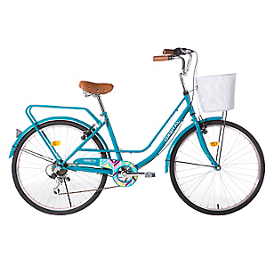 Bicicleta Chevron Aro 26 Turquesa