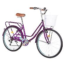 Bicicleta Chevron Aro 26 Morada