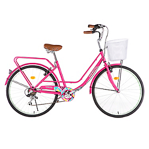 Bicicleta Chevron Aro 26 Rosada
