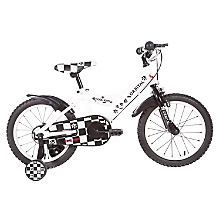 Bicicleta Cool Kids aro 16 Negro/Blanco