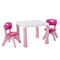 Set Mesa + 2 Sillas Plástico