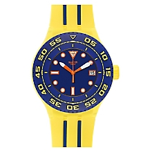 Reloj Unisex Resina Amarillo