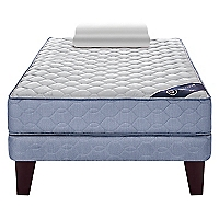 Cama Europea  Essence 3 1.5 Plazas + Almohada