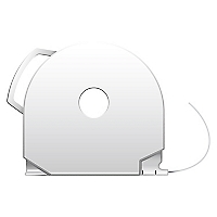 Cartridge CubePro PLA Blanco