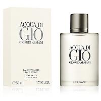 Perfume Acqua Di Gio Pour Homme Eau de Toilette 50 ml