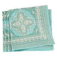 Set 4 Individuales Aqua 40 x 40 cm