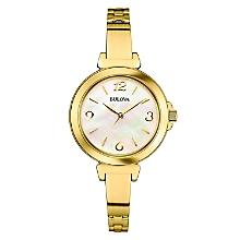 Reloj Mujer Metal Dorado