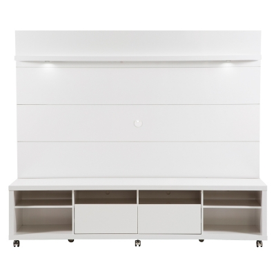 Rack y Panel Horizon 217 cm Color Blanco