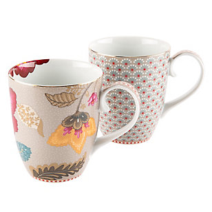 Set 2 Mugs Grande Bloom