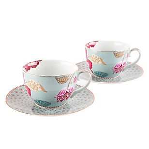Set 2 Tazas Cappuccino Bloom