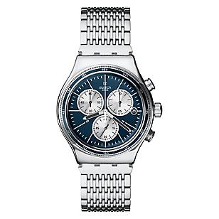 Swatch Reloj Hombre Wales Acero