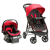 Coche Travel Sys Step And Go Rojo