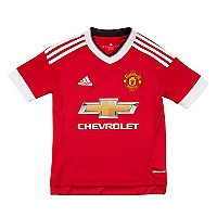 Camiseta Niño Local  Manchester United FC