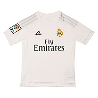 Camiseta Ni�o Local Real Madrid 2015 - 2016