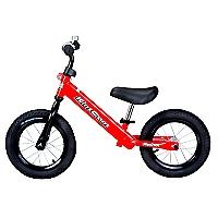 Bicicleta sin Pedales Acero Roja