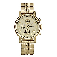 Reloj  Metal - Dama Amarillo ES2197