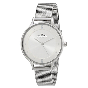 Reloj  Metal - Dama Gris SKW2149