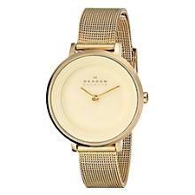 Reloj  Metal - Dama Dorado SKW2212