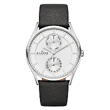 Reloj  Cuero - Hombre Negro  SKW6065