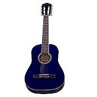 Guitarra Clásica Azul MGN01