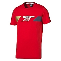 Camiseta Arsenal Cannon Fan Roja