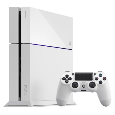 Consola PS4 Blanca 500GB