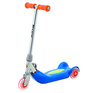Folding Kiddie Kick Scooter Azul
