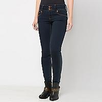 Jeans Pretina Ancha Oscuro