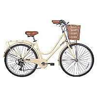 Bicicleta Aro 26 City Basic RR Latte