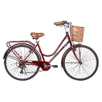 Bicicleta Aro 26 City Basic RR Rojo