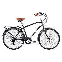 Bicicleta Aro 26 City Conmuter Negra