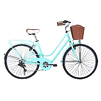 Bicicleta Aro 26 City Avenue Turquesa