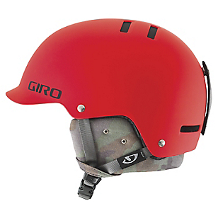 Casco Nieve Vault Camo Rojo