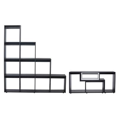 Combo Rack Extensible + Estante Escalera
