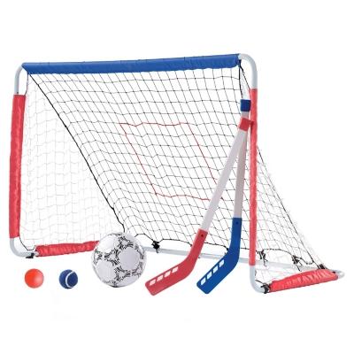 Set 2 en 1 Arco de Fútbol - Hockey