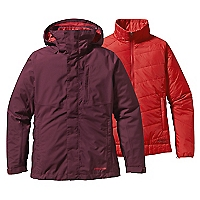 Parka 3-in-1 Snowbelle Mujer Burdeo