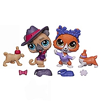 Mascotas Lps Buster y Wagger
