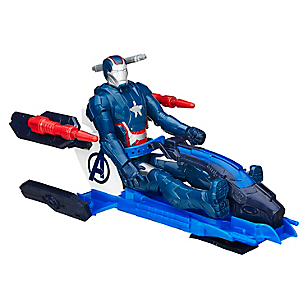 Vehiculo Iron Man Patriot