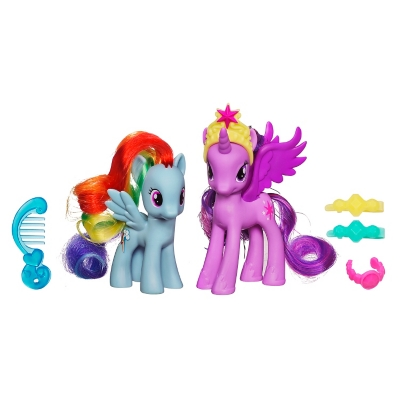 Figuras Princes Twilight y R Dash