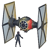 Villain Starfighter And Pilot B4014