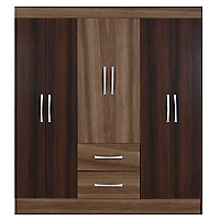 Closet New Irlanda 6 Puertas/2 Cajones