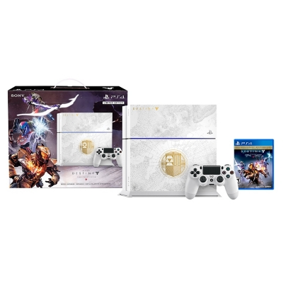 Consola PS4 500GB Edición Limitada + Destiny The Taken King
