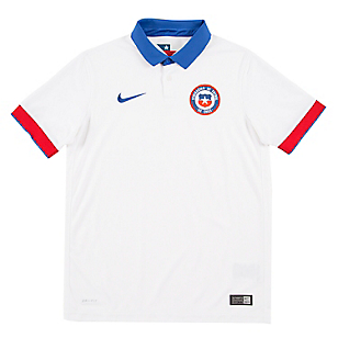 Camiseta Niño Selección Chilena Blanca