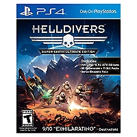 PS4 Helldivers Ultimate Edition