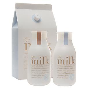 Set Milk Incluye Loción Corporal y Gel de Baño