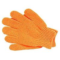 Guante Exfoliante x 2 Naranja