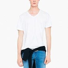 Camiseta Algod�n Cuello En V