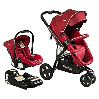 Coche Travel System Comp Elite Melan Rojo