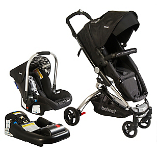 Coche Travel System Eclipse Negro